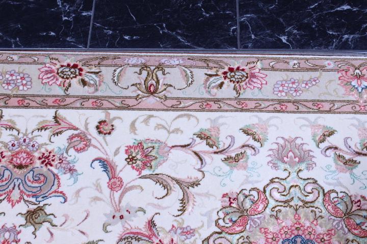 13' 4m Tabriz silk Persian rugs