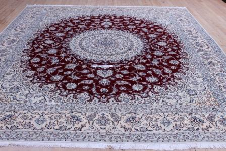 70 Raj 12x8 Tabriz Persian rug with 700 KPSI.
