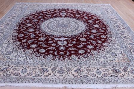70 Raj 12x8 Tabriz Persian rug with 700 KPSI.