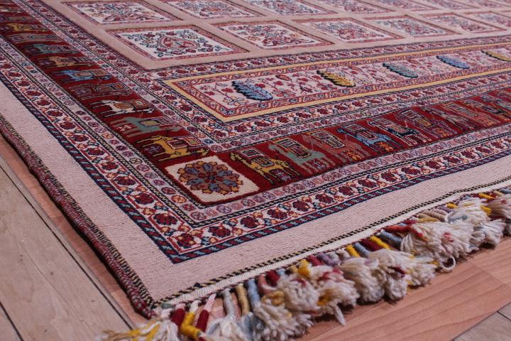 10x13 Nimbaft Kelim Persian Rugs Rare Persian Carpet