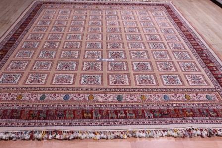 10 by 13 Nimbaft Kelim Persian Rug