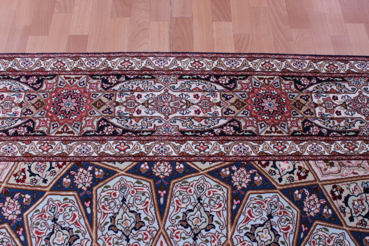 Large 11x8 Gonbad Tabriz Persian rug on sale. Low priced Dome Design Gombad Tabriz Persian carpet.