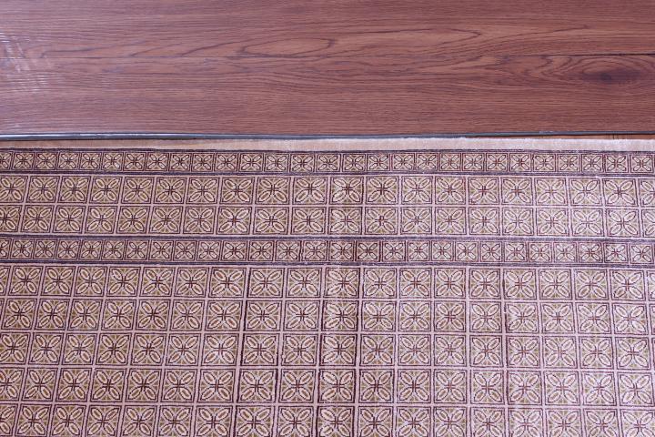 4'x3' 600+kpsi Qum pure silk Qom Persian rug