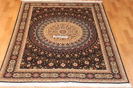 5x7 Gonbad Tabriz Persian rug, gombad Tabriz carpet.