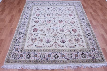 8x6 60 Raj 400 kpsi Tabriz Persian rug