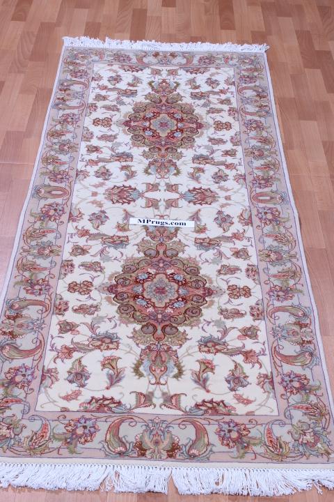6 2m Long Tabriz Persian Rug Runner