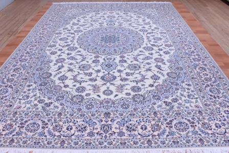 12x8 Nain 6la persian rug with 500 kpsi