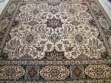 SQUARE PERSIAN RUGS. Click on picture or text to read and see more about square Persian rugs. Square rugs are not as common as the more traditional shapes like this large square Nain Persian rug.
