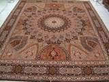 GONBAD PERSIAN CARPETS. Click on picture or text to read and see more Gonbad Persian rugs. This Tabriz Gonbad rug is a classic example of the dome shape design that has become one of the most popular designs in Persian carpets.