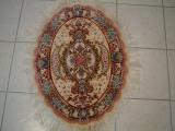 METAL ORIENTAL RUGS. Click on picture or text to read and see more about metal Oriental rugs. Persian carpets with a metal foundation are among the most unusual Oriental rugs and most of my clients have never seen one in person. These type of high quality Persian rugs are to be treated as showpieces and are extremely valuable.
