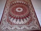 QOM PERSIAN RUGS. Click on picture or text to read and see more about pure silk Qum Persian rugs. Most fine Qum Persian rugs are made of pure silk and they are among the finest Persian carpets.