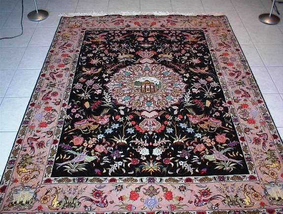 Persian Carpet Tabriz Vidalondon