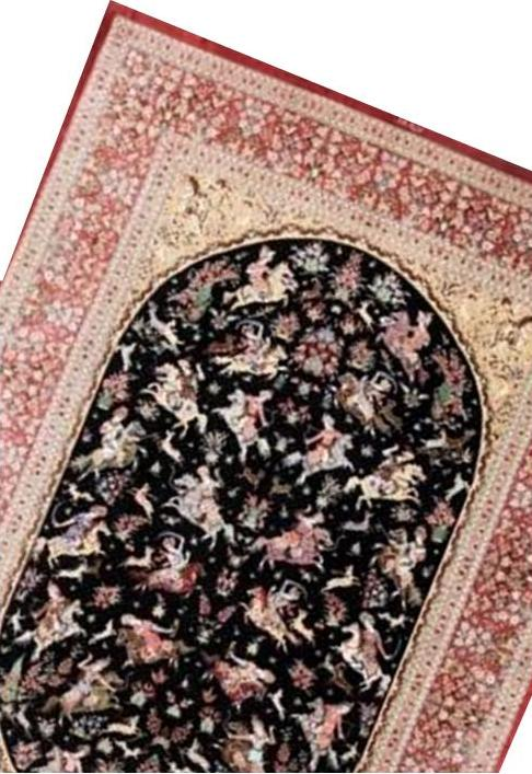 PICTORIAL PERSIAN RUGS, PICTURE PERSIAN CARPETS