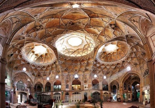 Qom Iran rug bazaar