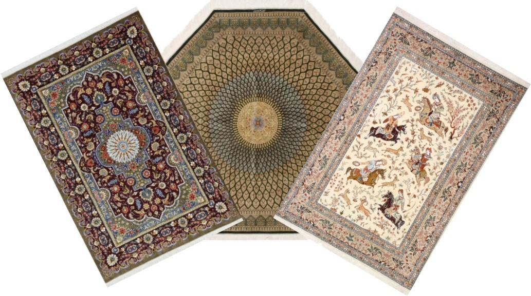 Qum Persian Rugs - Qom Silk Persian Carpets