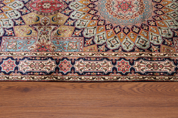 Examples Of Persian Rug 88675 On 4 Diffe Types Floors