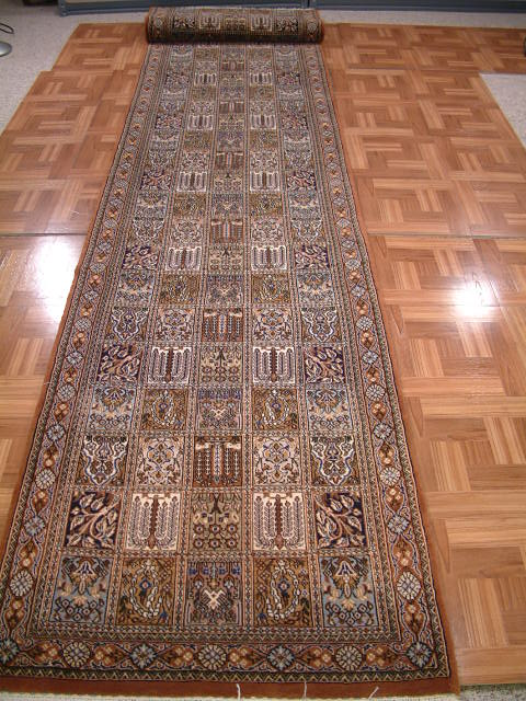 Qom Persian rug #4104, click on the picture or description for more details about the Persian carpets.