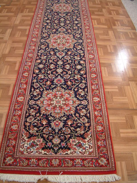 Qom Persian rug #80915, click on the picture or description for more details about the Persian carpets.