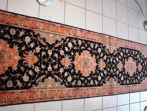 Persian rug client in Iowa