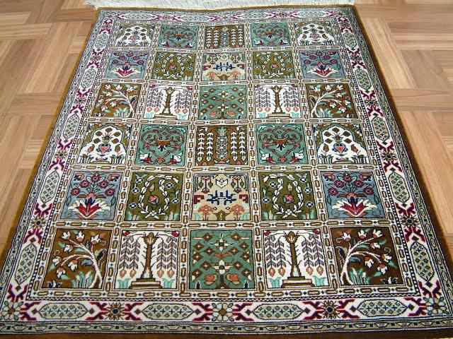 Qom Persian Rug 2120