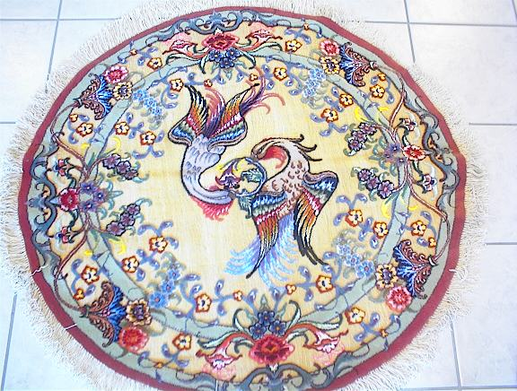Persian rug client in Virginia