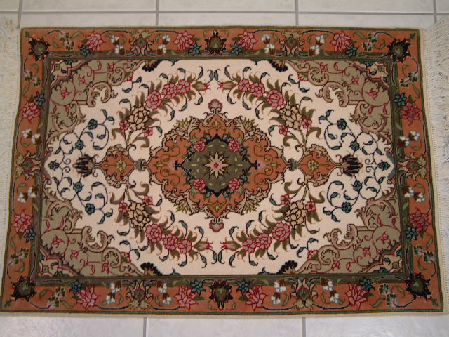 Tabriz Persian rug #2065, click on the picture or description for more details about the Persian carpets.