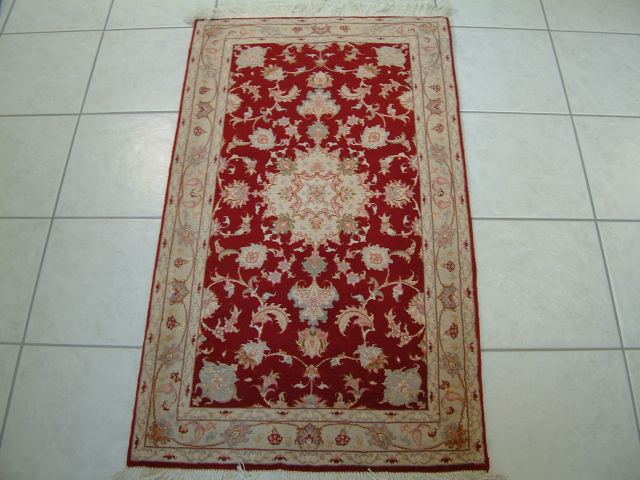 Tabriz Persian rug #2081, click on the picture or description for more details about the Persian carpets.