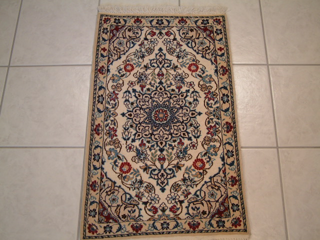 Nain Persian rug #2086, click on the picture or description for more details about the Persian carpets.
