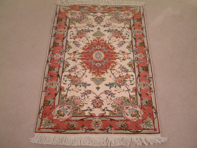 Tabriz Persian rug #2090, click on the picture or description for more details about the Persian carpets.
