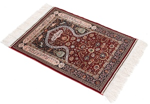Turkish Hereke silk carpets, antique Hereke rugs